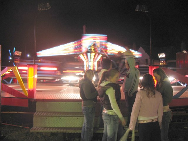 Fairground at Fromefield