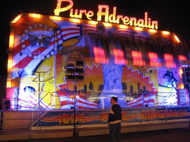The Pure Adrenalin ride