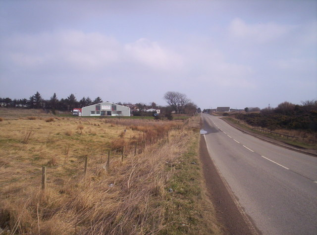 Road to Marywell from A90