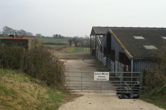 Barns west of Michelmersh
