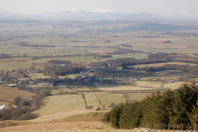 Melmerby from the fells