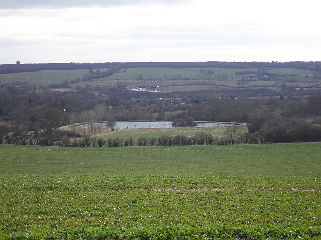 Fishing lake at Goddington