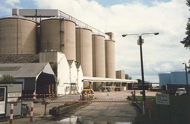 Sugar Silos at Cantley