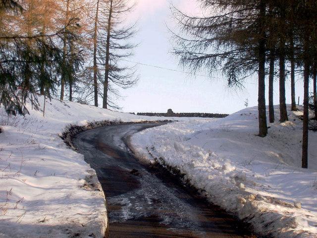 Road near Beattock