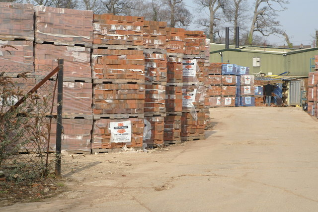 Brick stockpile, Michelmersh