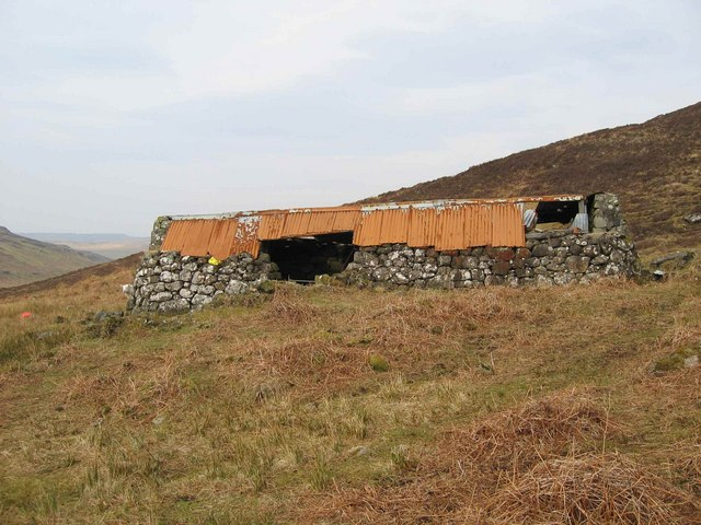 Ruined Building in Glen Bracadale