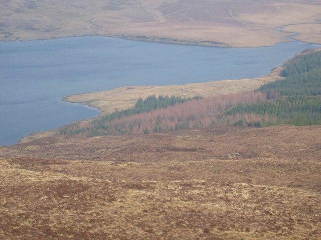 North east slopes of Ben Duagrich