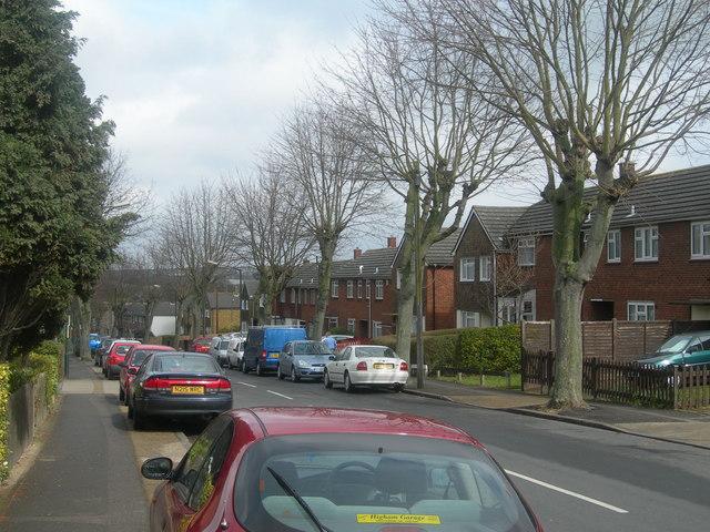 Churchill Avenue, Wayfield