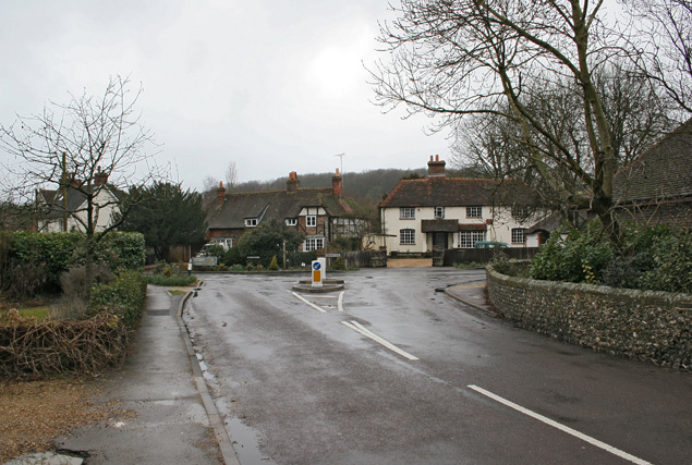 Hambledon - Junction of West Street and Green Lane
