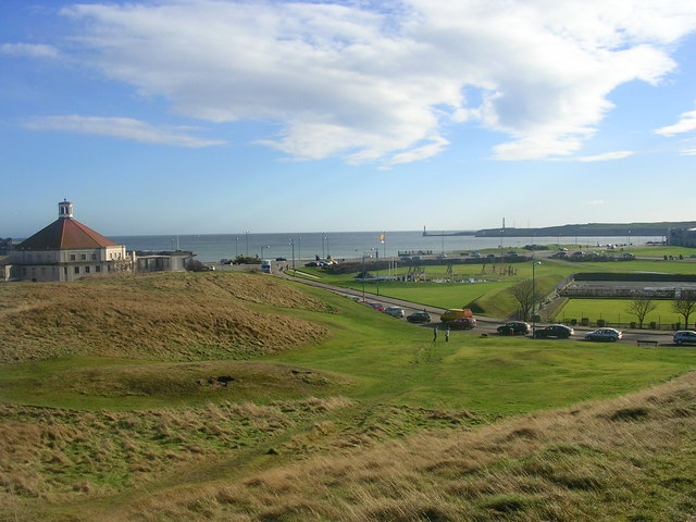 Sea view from the Broad Hill