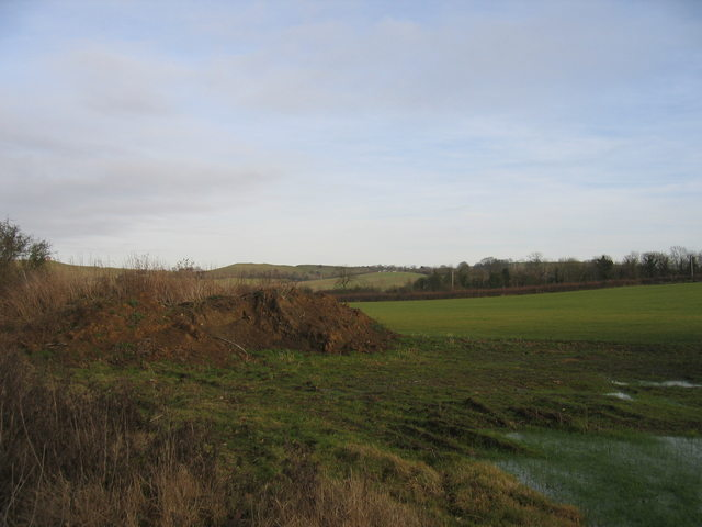 View towards the Dassett Hills