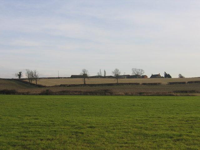 View towards Burton Hill Farm
