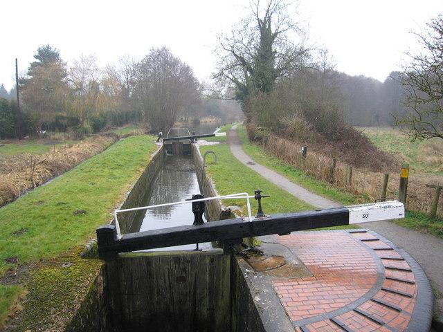 Lock 30 Stratford on Avon Canal