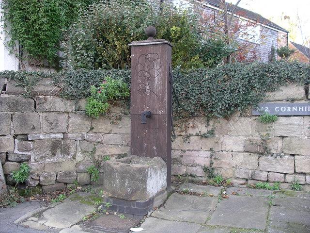 communal water pump