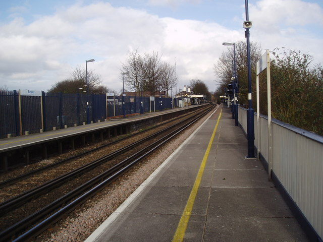 Bexley station, Kent