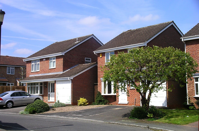 Houses Marshaw Close, Mickleover, Derby