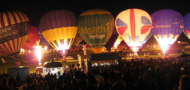 Balloon Fiesta Ashton Court Bristol