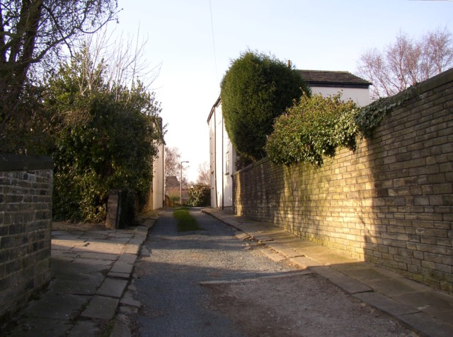 Lane off Clifton Common, Clifton