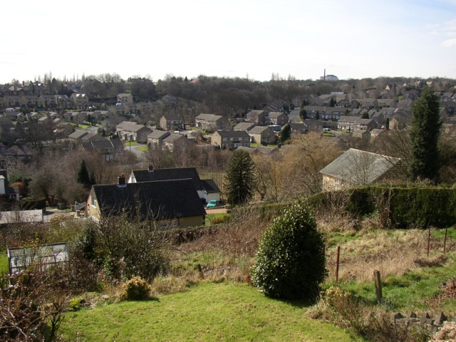 View from Grimescar Road, Fartown
