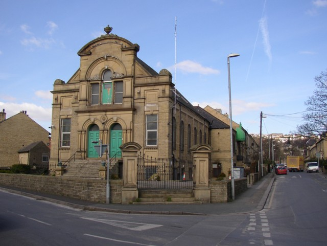 Former chapel, Halifax Old Road, Fartown
