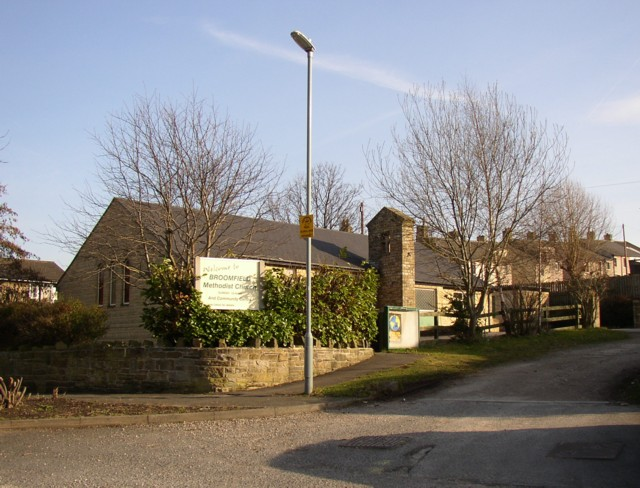 The former Broomfield Methodist Church
