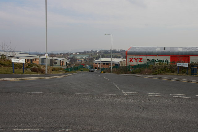 Thwaites Close, Shadsworth Industrial Park
