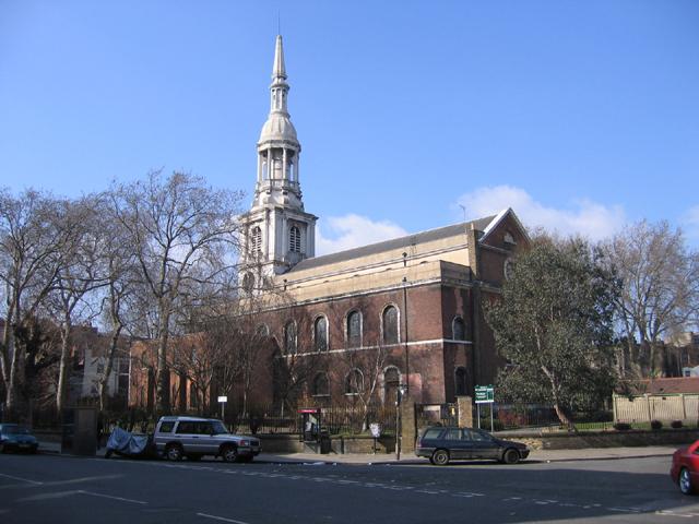St Leonard's church, Shoreditch High Street