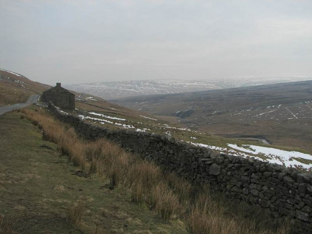 View SE along Birkdale Beck valley
