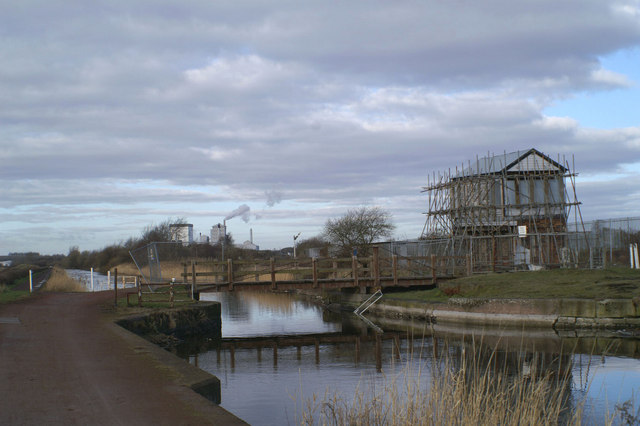 Carterhouse Bridge, from the east