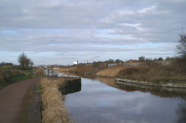 Former crossing on the Sankey Canal