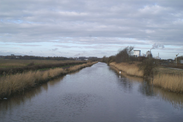The view west from Carterhouse Bridge