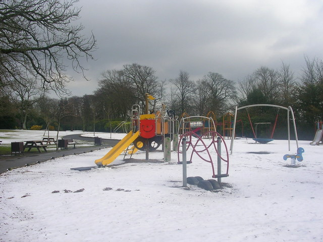 More snow at Hazlehead Park