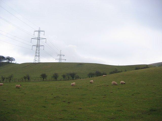 Torness pylons.
