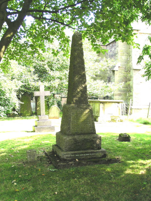War Memorial to Great war in St. Edith's churchyard