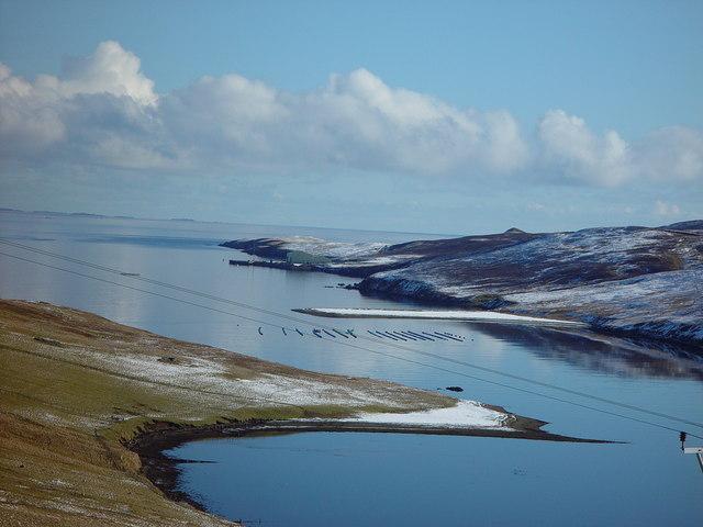 Muckle Ayre, Dales Voe, Shetland