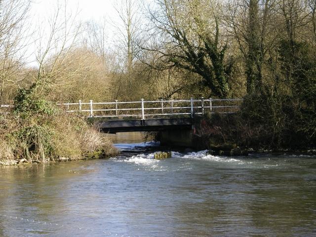 Easton Lane bridge