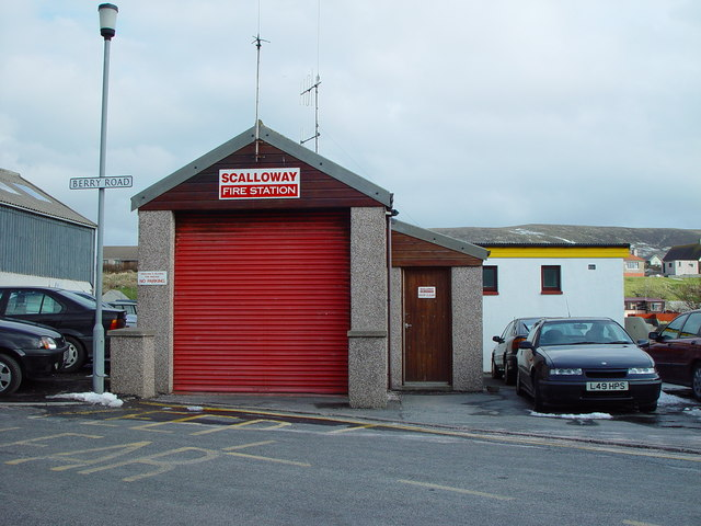 Scalloway Fire Station