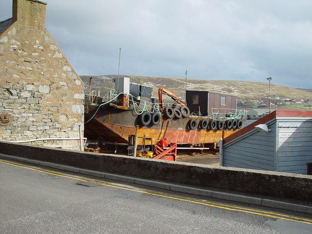 Malakoff & Moore's Slip, Scalloway, Shetland