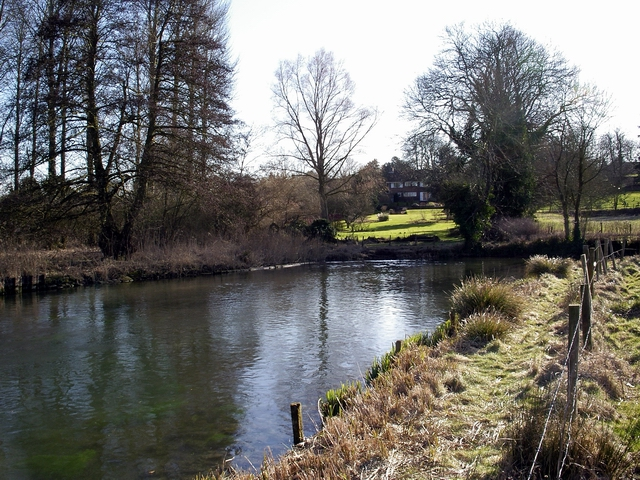 River Itchen, near Easton