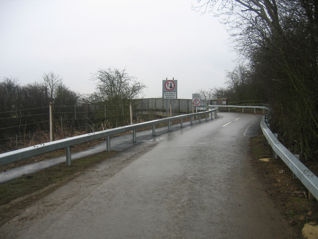 Post Heck road bridge