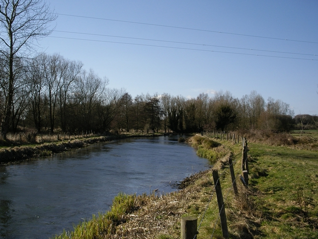 River Itchen, north of Easton