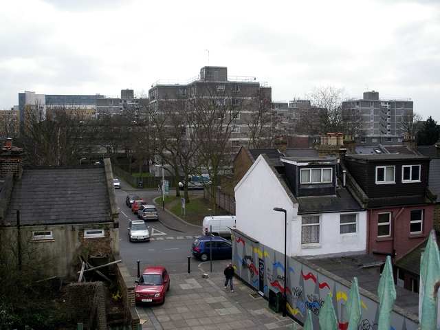 Felix Road, Romsey Road and the Green Man Estate, London W13
