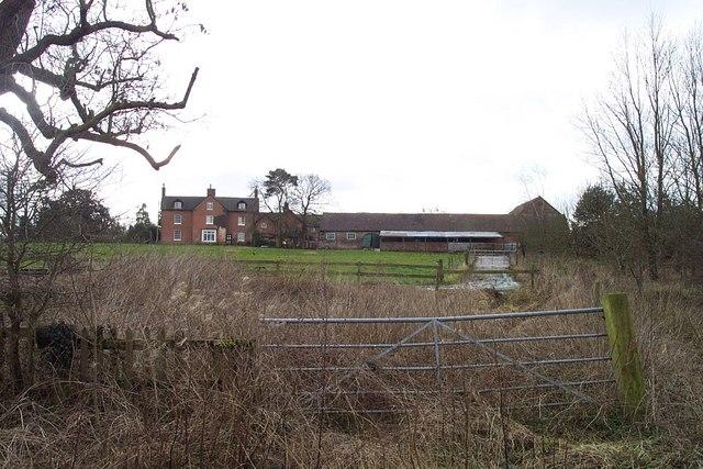 Ranton Hall Looking East