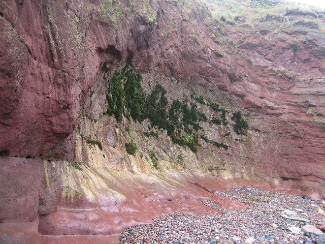 Gar Rocks, Seacliff beach, East Lothian