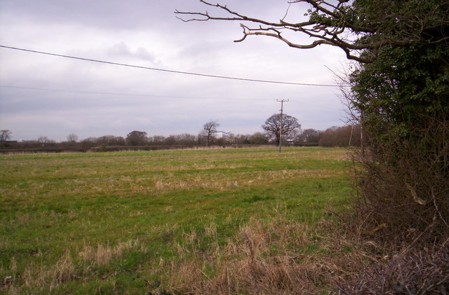 Farmland near Little Stanney