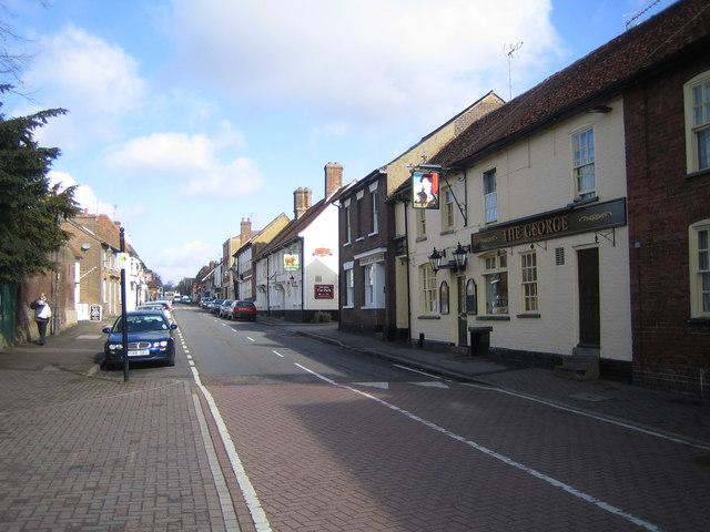 Redbourn: The High Street