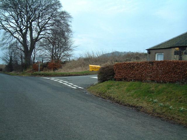 Flisk road junction