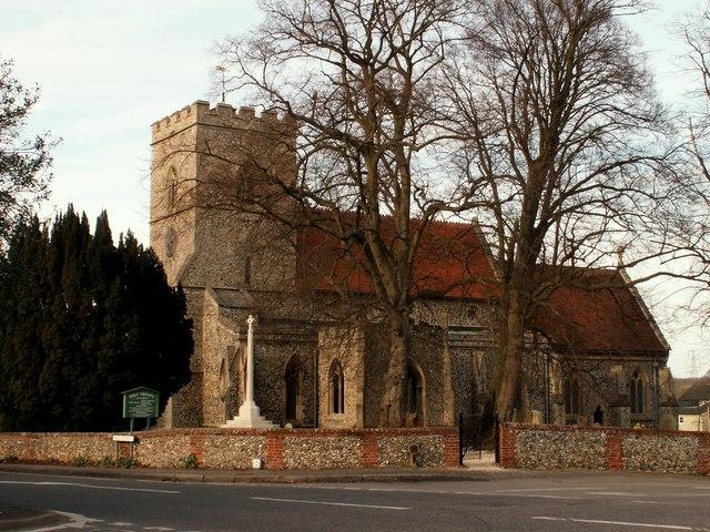 Holy Trinity church, Littlebury, Essex