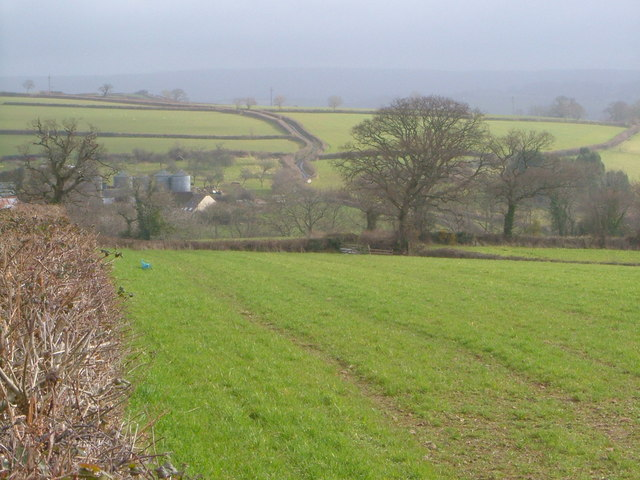 View over Frost Farm
