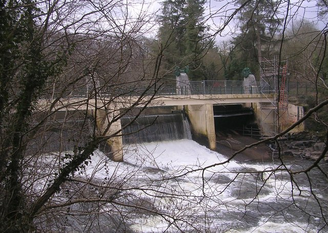 Stonebyres Weir, River Clyde